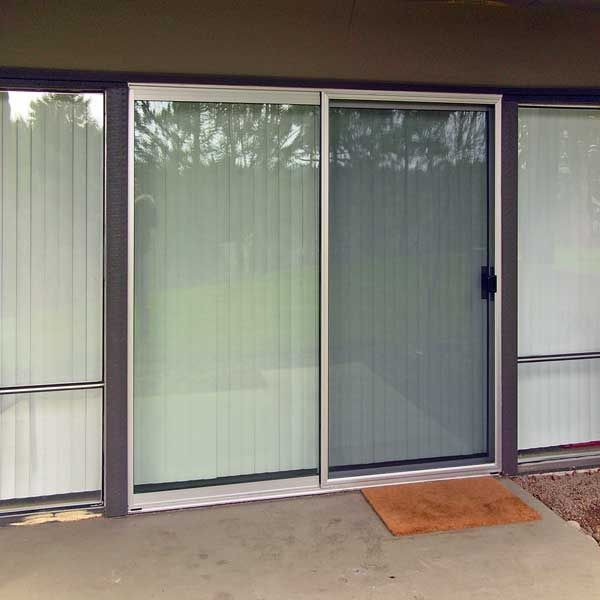 Sliding fly screen is applied on a glass door in order to repel sliding fly screen is applied on a glass door in order to repel insects and farm house decor pinterest insects glass doors and screens planetlyrics Image collections