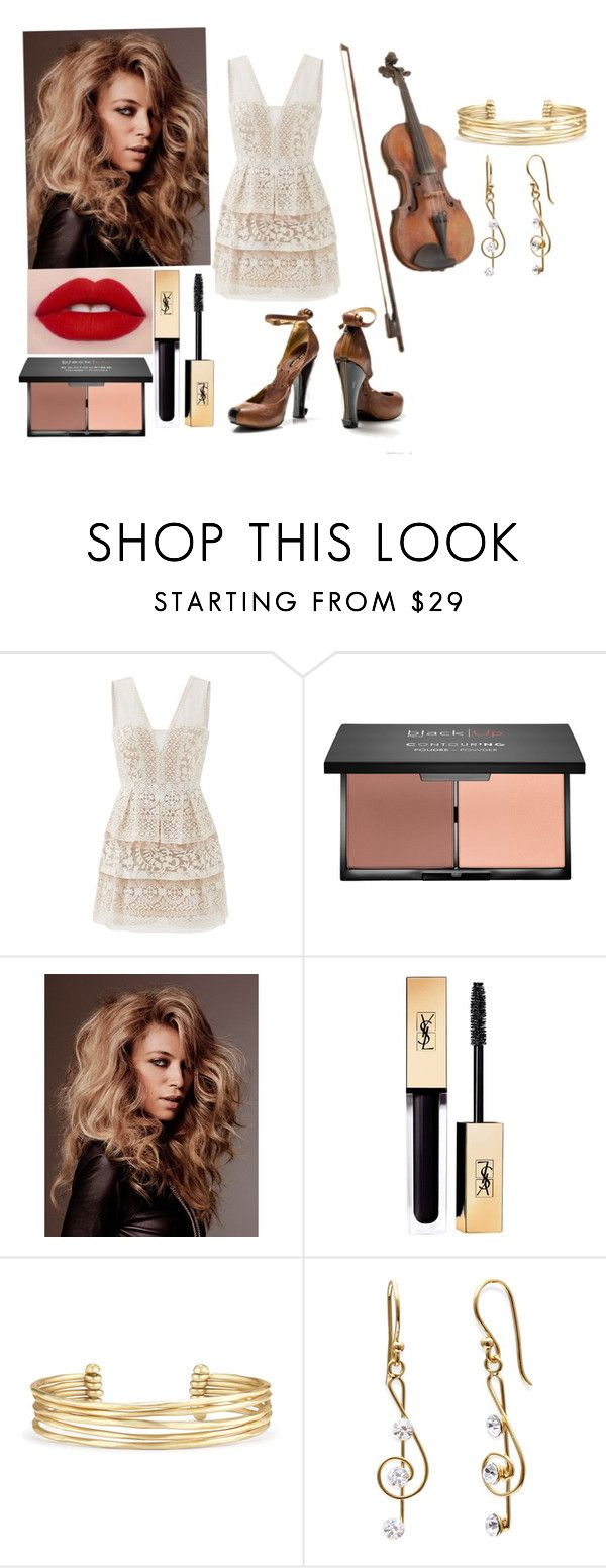 """""""Violin OC"""" by chibiblue ❤ liked on Polyvore featuring BCBGMAXAZRIA, Yves Saint Laurent and Stella & Dot"""