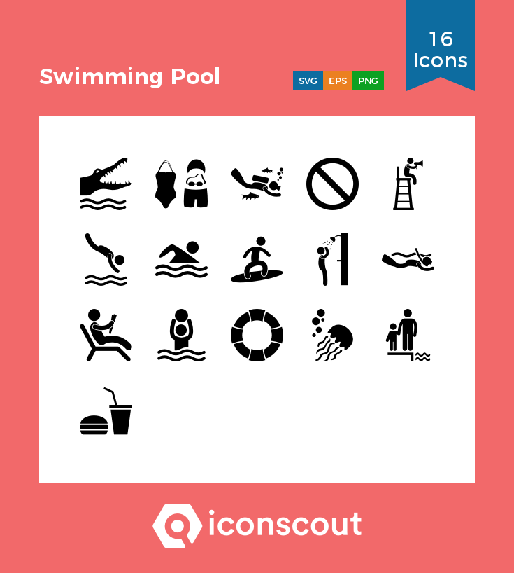 Download Swimming Pool Icon Pack Available In Svg Png Eps Ai Icon Fonts Swimming Pools Swimming Icon Pack
