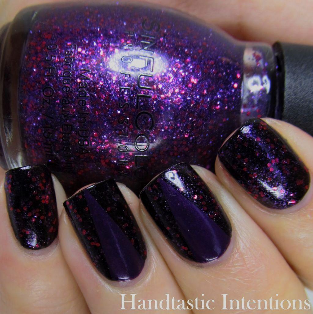Dark Purple Nail Designs | Nails | Pinterest | Dark purple nails ...