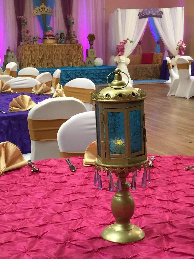 Princess Jasmine Aladdin Baby Shower Party Ideas Photo