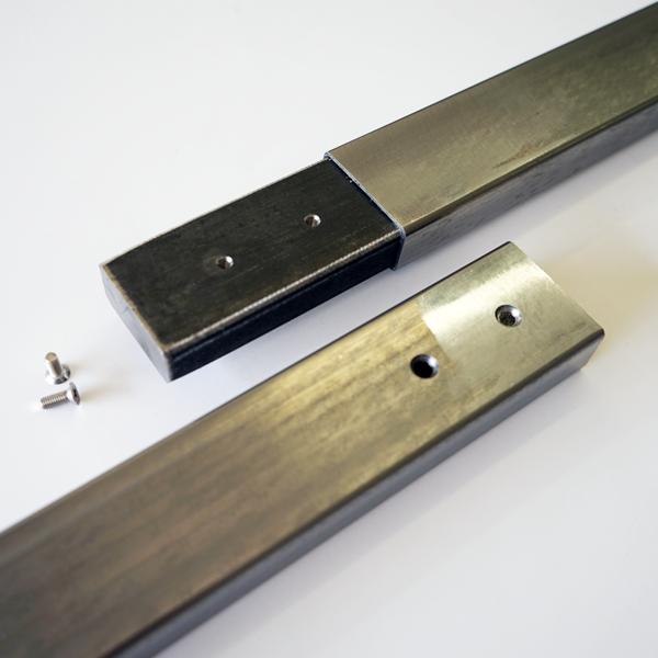 Best Modern Handrail 9 10 Foot 4 Brackets Main Courante 400 x 300
