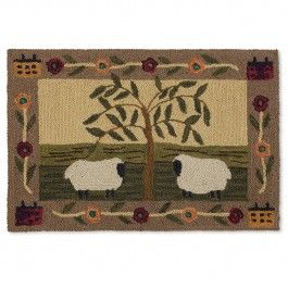 Willow & Sheep Rug | Sturbridge Yankee Workshop