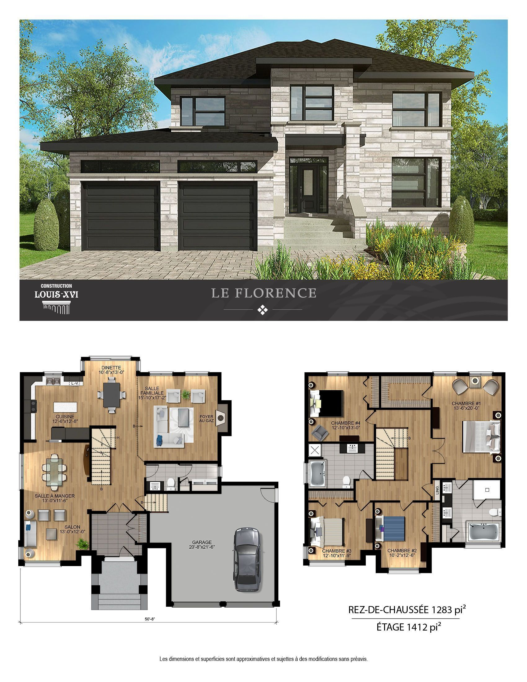 2 Story House For Sale In Blainville Have A Look There Blainville House Story There New Architecture House Sims House Plans Modern House Plans