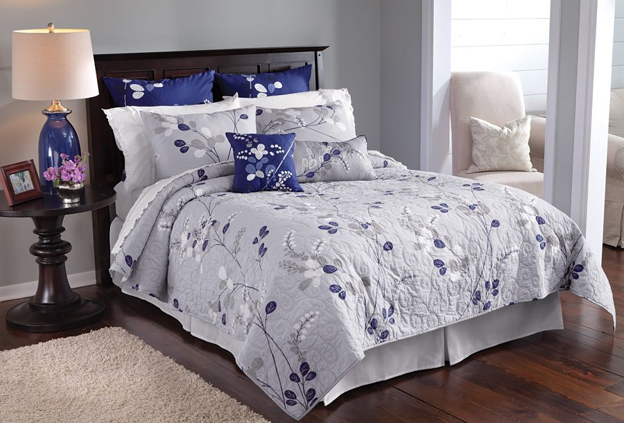 Silver Willow Quilted Bedding Quilt Bedding How To