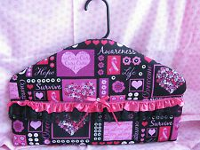 New Secret Stash Pink Ribbon Breast Cancer Awareness Hanger-Hidden-Diversion
