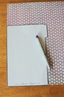 c367d4bbb The Art of Being Mama: Homemade Binder Tabs {free printables} Agenda  Personalizada,