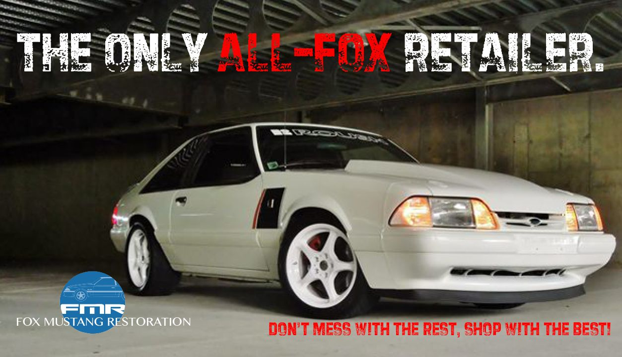 Fox Mustang Restoration 1979-93 Fox-Body Mustang Parts | mustang