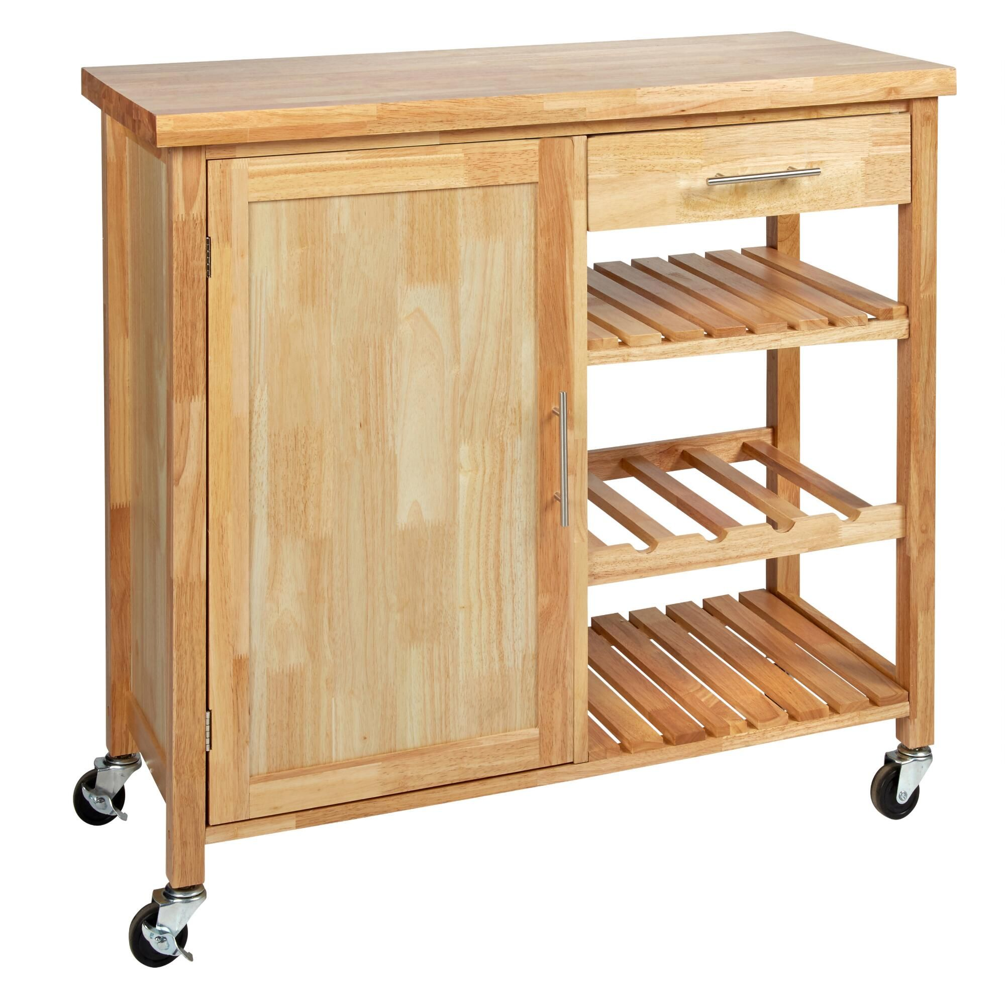 Kitchen island rolling  Youull be on a roll prepping and organizing your kitchen with our