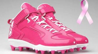7deadabe8d63 Pink cleats!