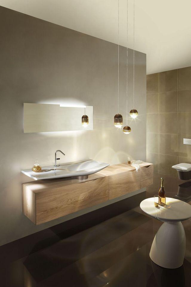 Meuble salle de bain des mod¨les de meubles suspendus tendance
