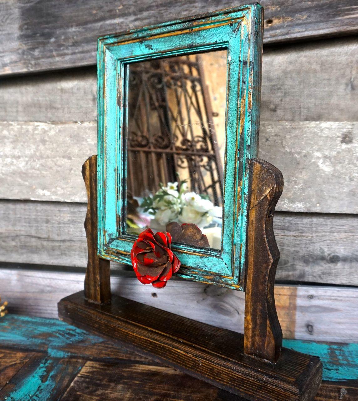 Senorita Swing Mirror Rustic furniture Swings and Ranch