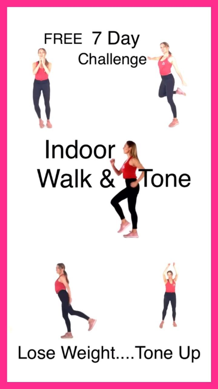 WALKING AT HOME CHALLENGE – LWR Fitness -  If you want to lose weight and tone up for free at home 🏠...