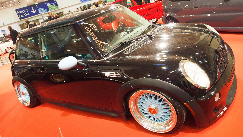 Bmw Vs Mini Cooper Tuning Bmw Mini Cooper S 1 6 180 Ps Tuning At Essen Motorshow Exterior