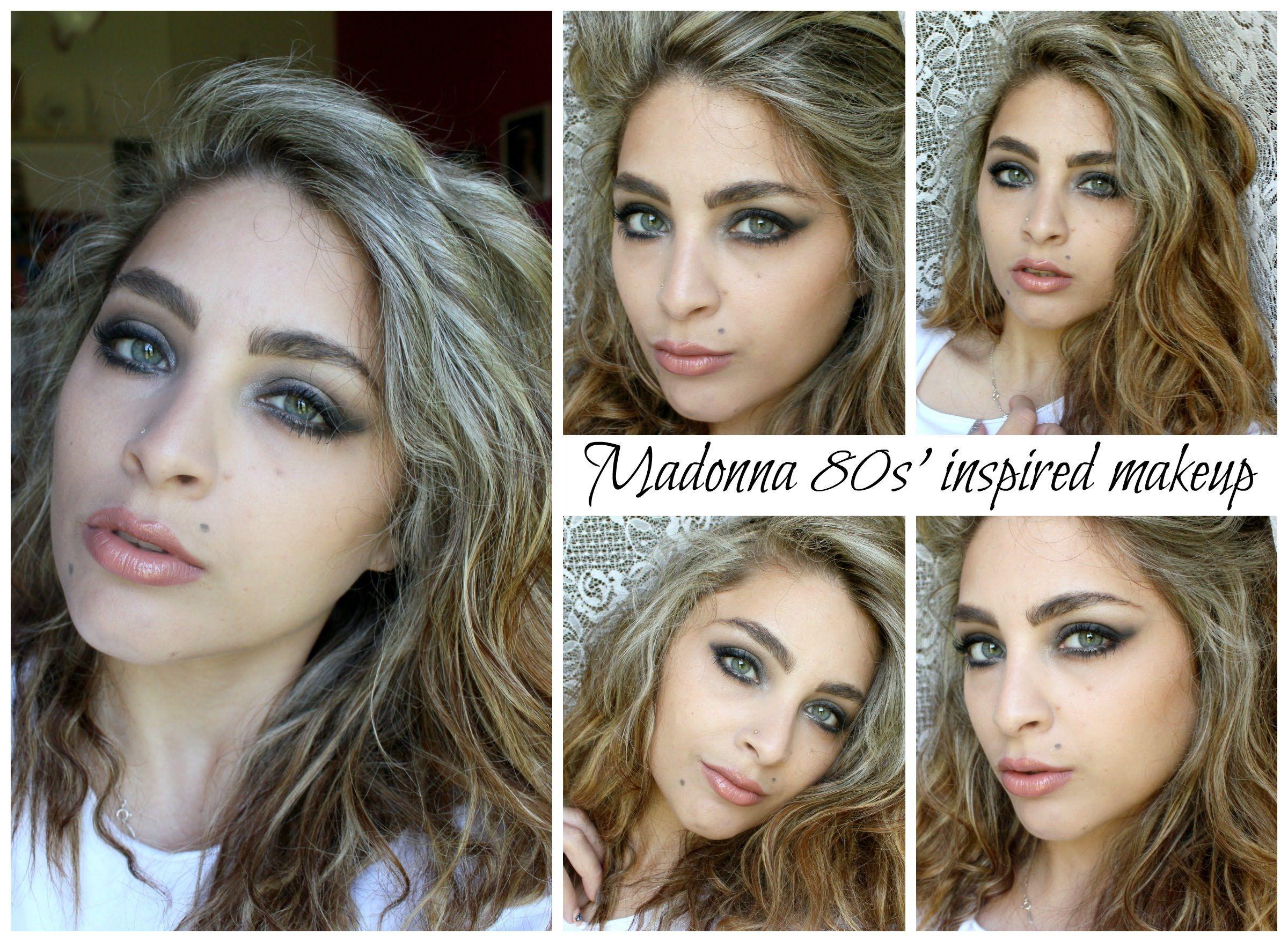 Madonna Eye Makeup 80s Google Search Costuming Madonna 80s