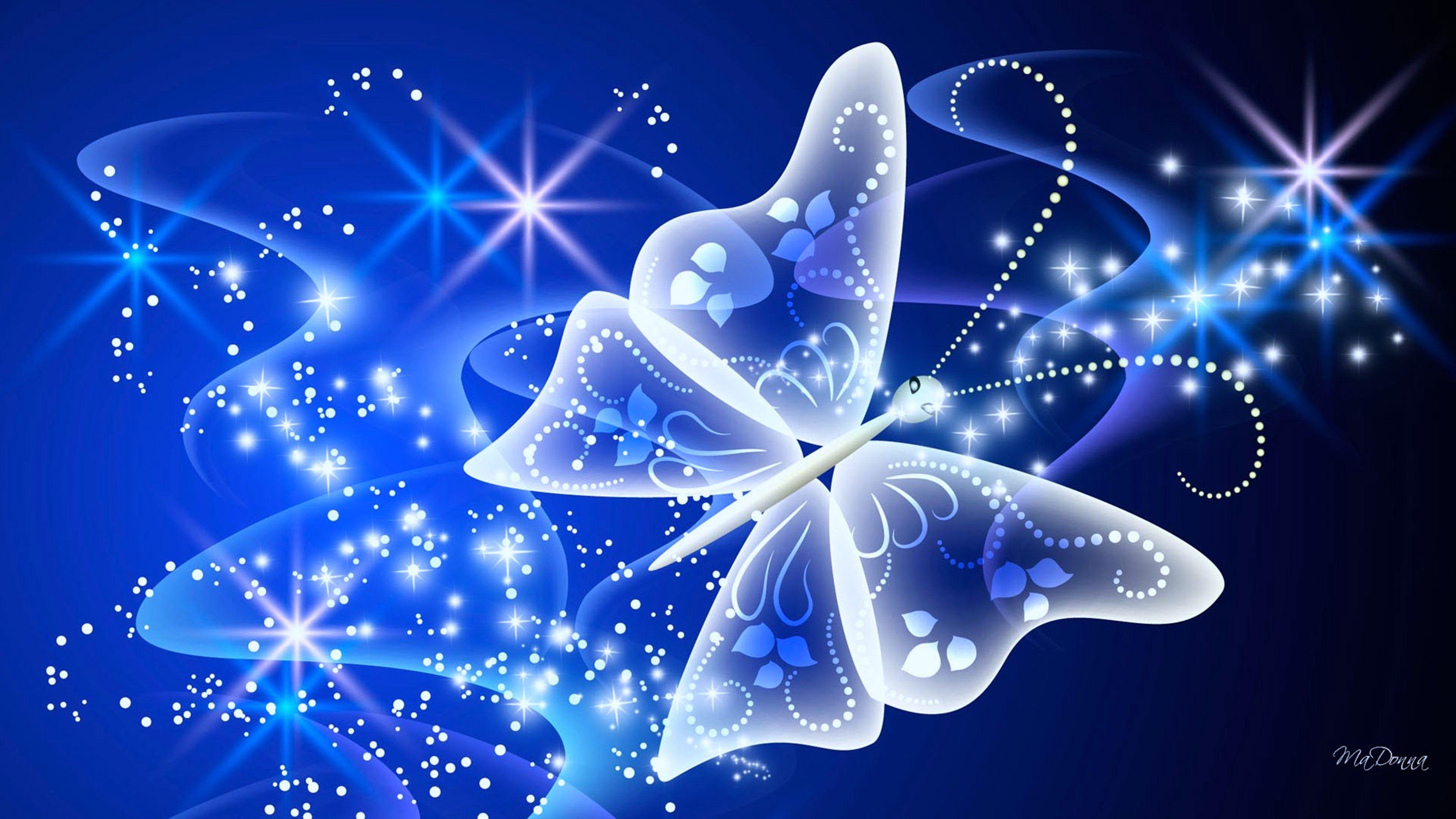 Magical Butterfly wallpapers stars beauty wallpaper