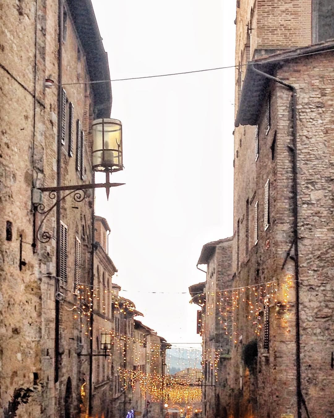 San Gimignano around Christmas - See this Instagram photo by ...