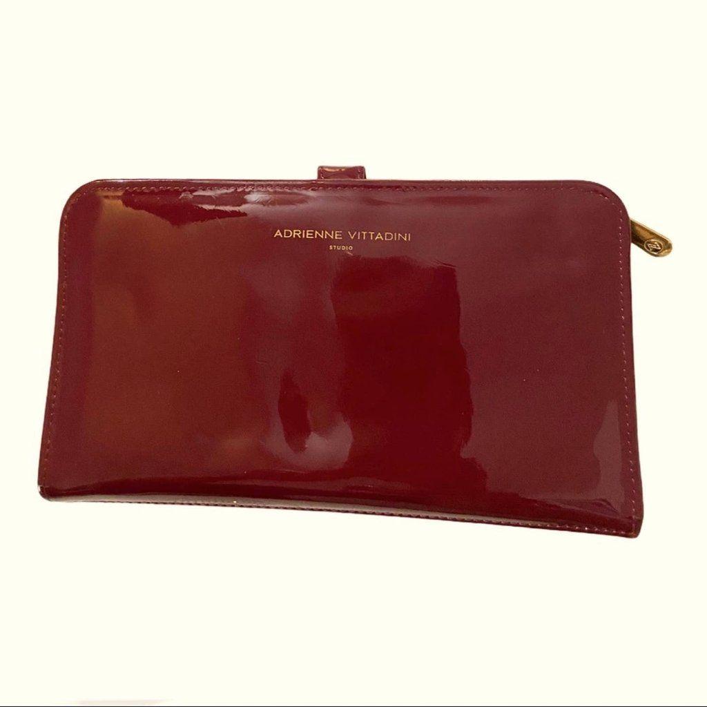 Adrienne Vittadini Bags   Maroon Adrienne Vittadini Patent Leather ...