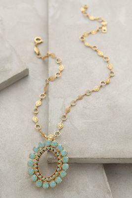 La Vie Parisienne Bellis Pendant Necklace #AnthroFave