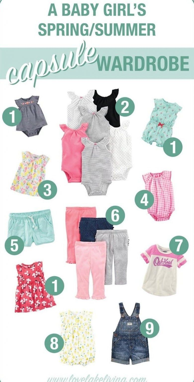 love lake living a baby girl s spring summer 2018 capsule wardrobe with tips