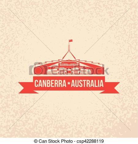 Parliament House The Symbol Of Canberra Australia Csp42288119