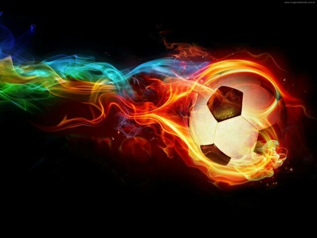 On Fire Soccer Ball Soccer Ball Soccer Backgrounds Soccer Pictures