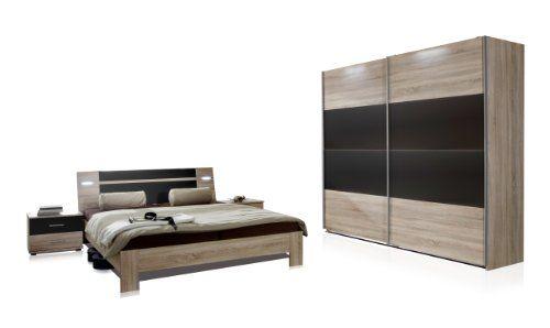 Wimex 751342 Schlafzimmer Set bestehend aus Schwebetürenschrank ...