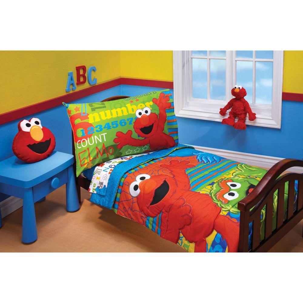 Sesame Street Themed Room Toddler Boys Room Decorating Toddler Girls Room Elmo Bedroom