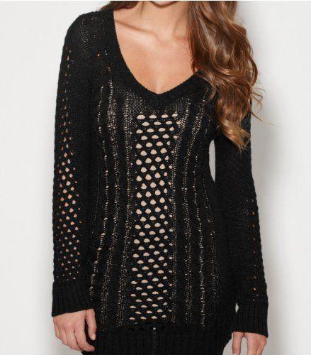 G by GUESS Women's Hetty Tunic Sweater, JET BLACK (LARGE) G by GUESS,http://www.amazon.com/dp/B00G0U7HAA/ref=cm_sw_r_pi_dp_.MTKsb00DK79Q5FR