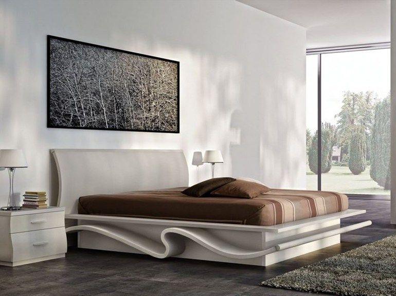 Bett Im Schlafzimmer Design Modern Italienisch Lecomfort , Letto Contenitore Matrimoniale In Legno Aladino By Mazzali