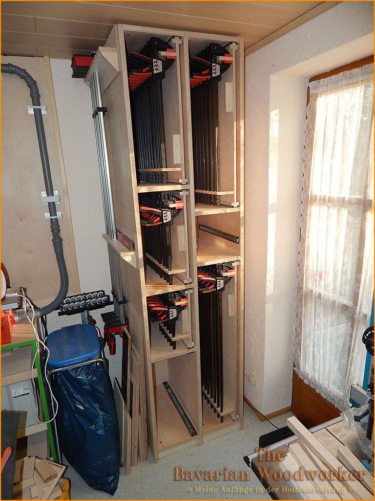 schrank f r 72 bessey einhand zwingen the bavarian woodworker werkstatt werkplaats. Black Bedroom Furniture Sets. Home Design Ideas