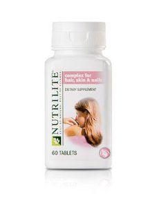 Nutrilite Complejo Para Cabello Piel Y Unas Vitaminas Para El