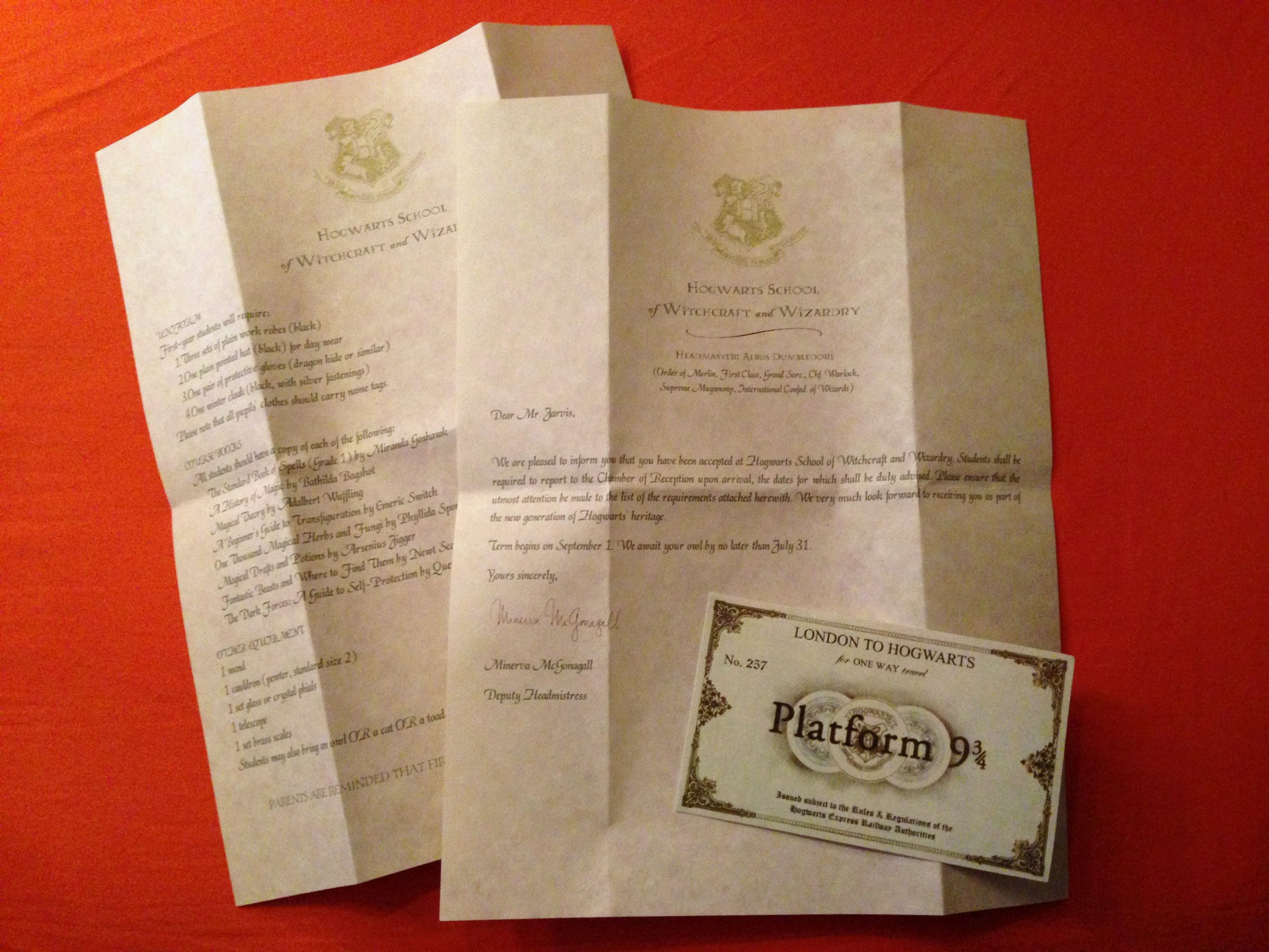 18++ Harry potter letter template word ideas