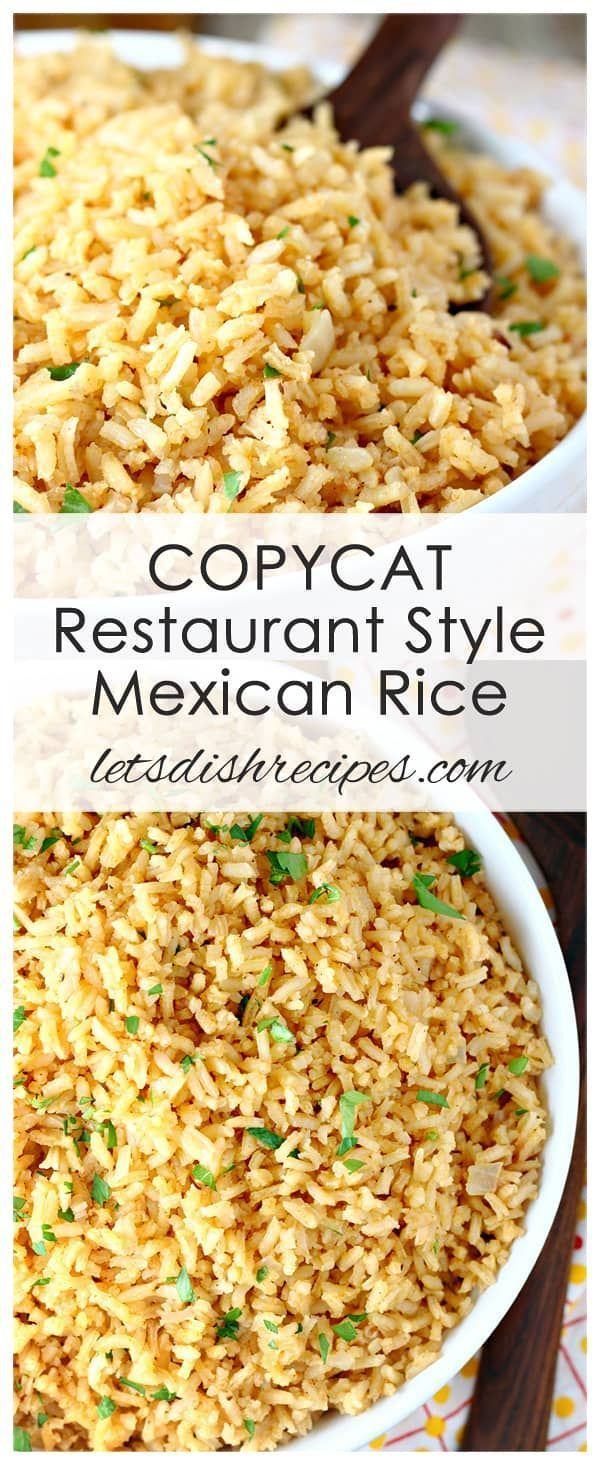 Photo of Copycat Restaurant Style Mexican Rice Recipe: This easy to make side dish tastes…