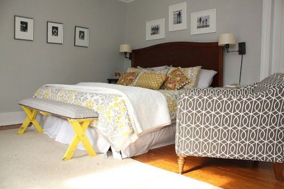 purple and yellow master bedroom ideas purple and yellow master bedrooms   MASTER BEDROOM IDEAS – Soothing yellow and gray master