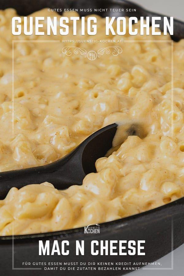 Mac and Cheese der nudelige & käsige US-Klassiker mit 5 Sorten Käse