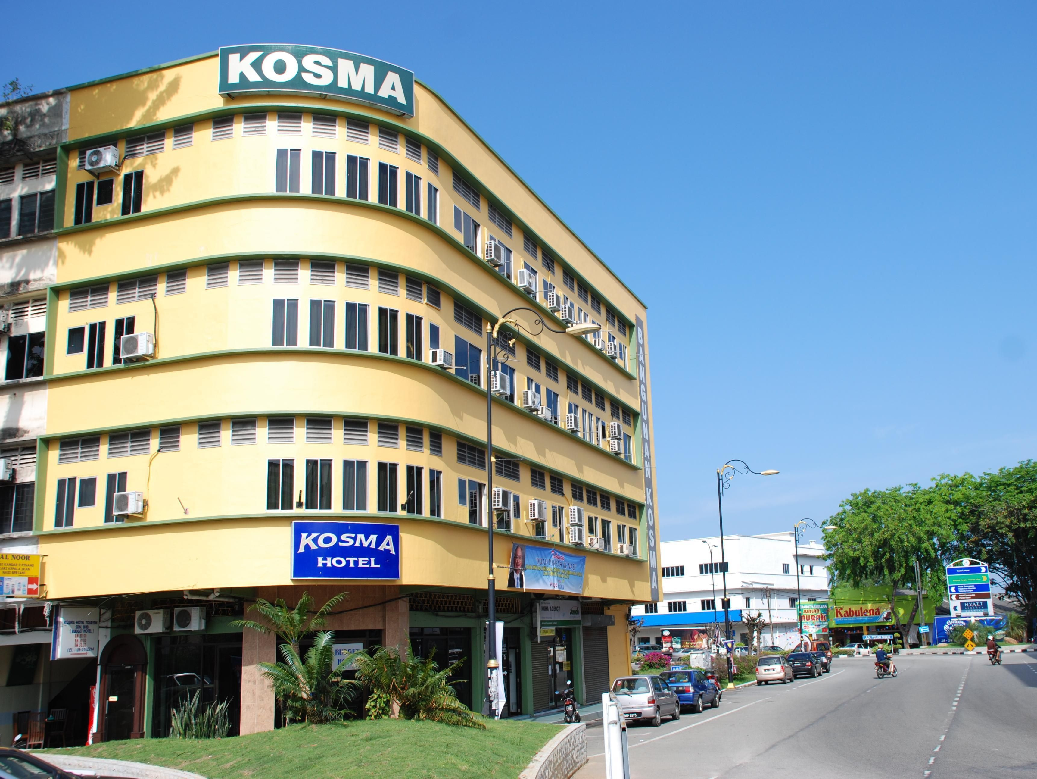 Kuantan Kosma Budget Hotel Malaysia, Asia Ideally located in the prime touristic area of Kuantan City, Kosma Budget Hotel promises a relaxing and wonderful visit. Featuring a complete list of amenities, guests will find their stay at the property a comfortable one. To be found at the hotel are free Wi-Fi in all rooms, Wi-Fi in public areas, family room. Some of the well-appointed guestrooms feature internet access – wireless (complimentary), air conditioning, television, satel...