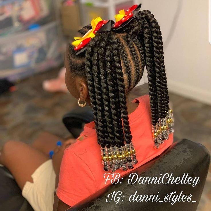 Braids Danni Styles Follow Shaunic Hair Skin And Nails Beauty Prod Beauty Br Kids Braided Hairstyles Lil Girl Hairstyles Kids Hairstyles Girls