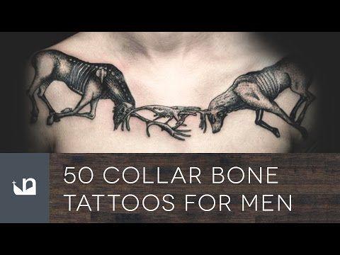 50 Collarbone Tattoos For Men
