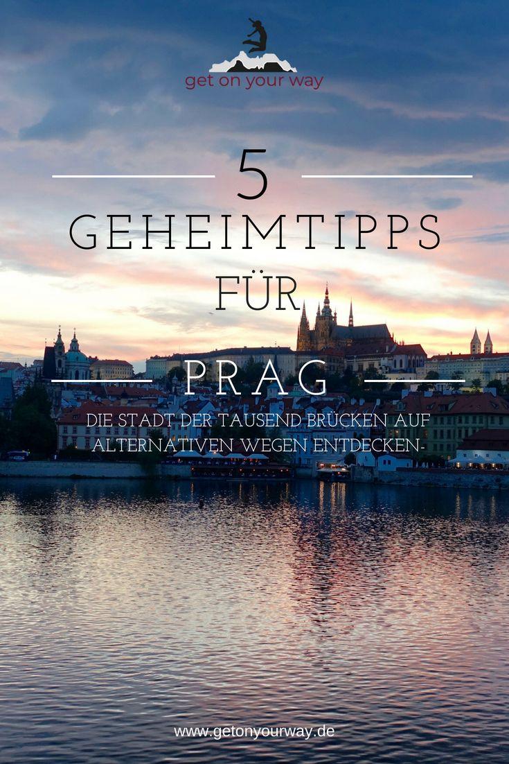 Geheimtipps für Prag, die Stadt der tausend Brücken | get on your way #aroundtheworldtrips