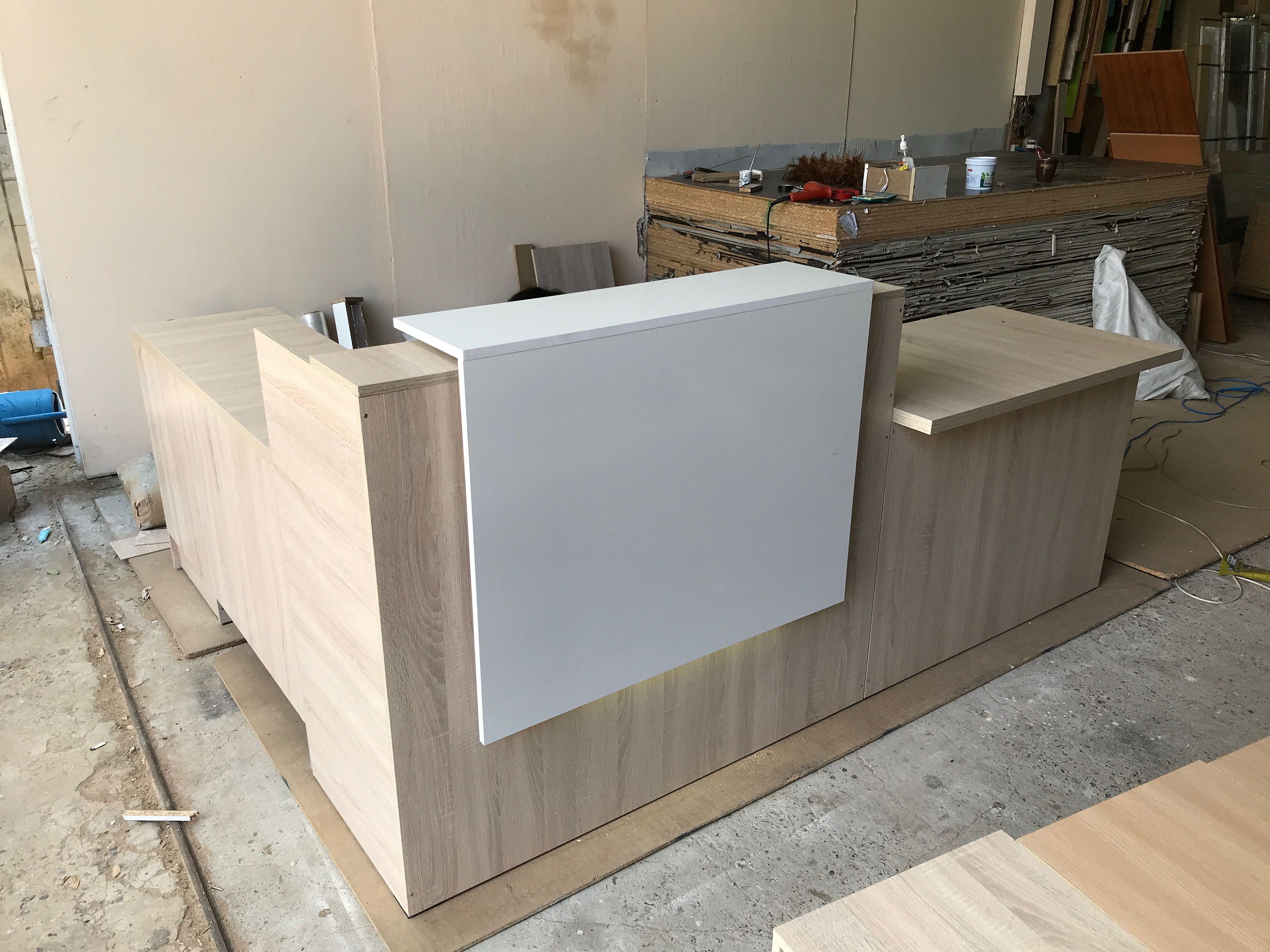 Mostrador Reception Desk Design Reception Counter Design Cashier Counter Design