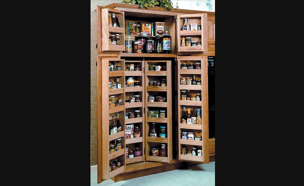 garde manger en bois rangement pour armoires de cuisine accessoires de cuisine kitchen. Black Bedroom Furniture Sets. Home Design Ideas