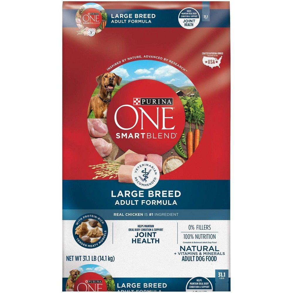 Purina One Natural Large Breed Dry Dog Food Smartblend Large