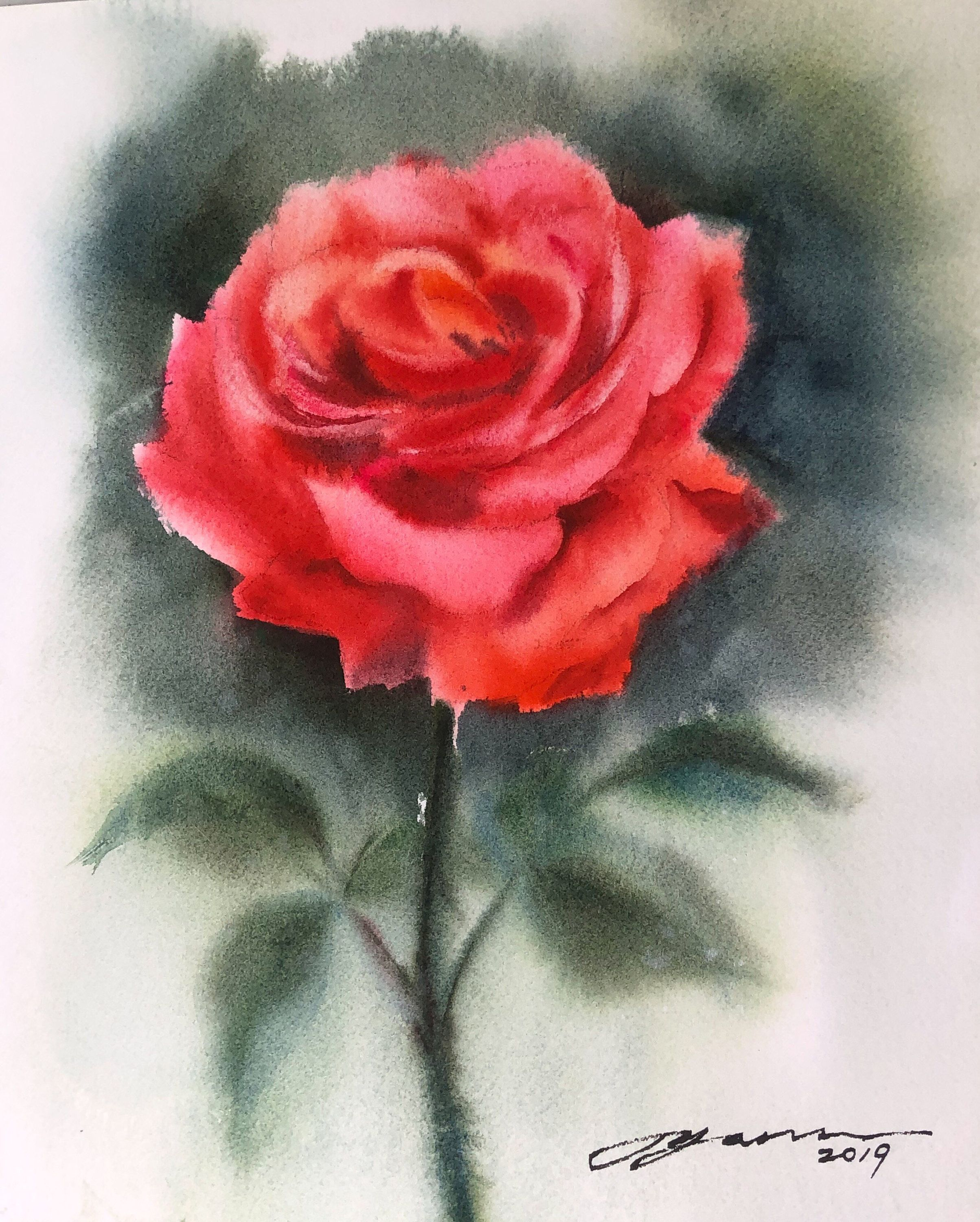 Pin On My Flower Paintings