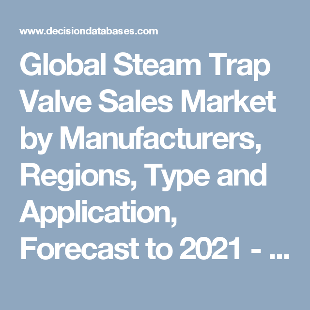 Global Steam Trap Valve Sales Market By Manufacturers Regions