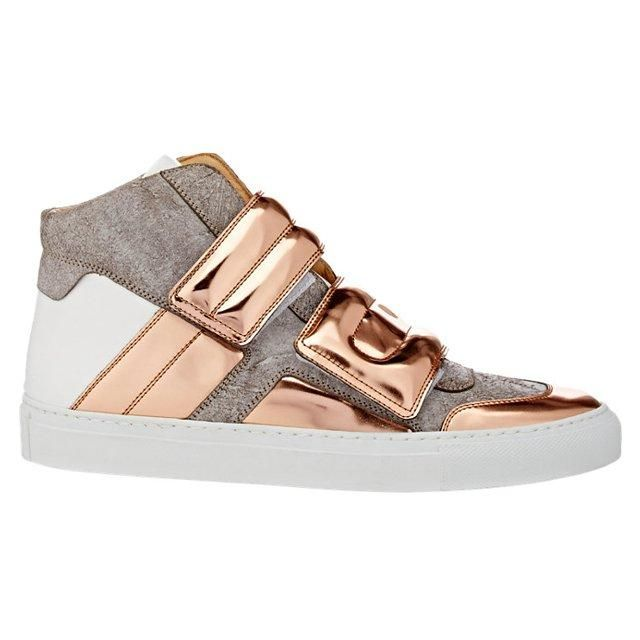Beautifu Womens Mm6 Maison Margiela Double Strap Hi-Top Sneakers Sale Online