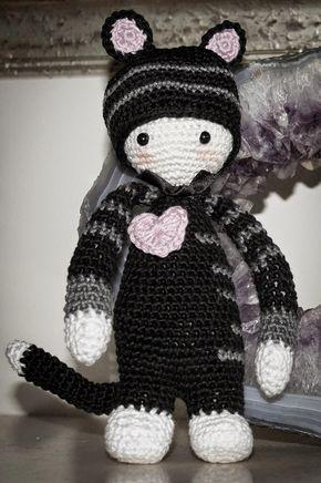 Haakpatroon Lalylala Kat Haakpatronen Amigurumi Crochet En