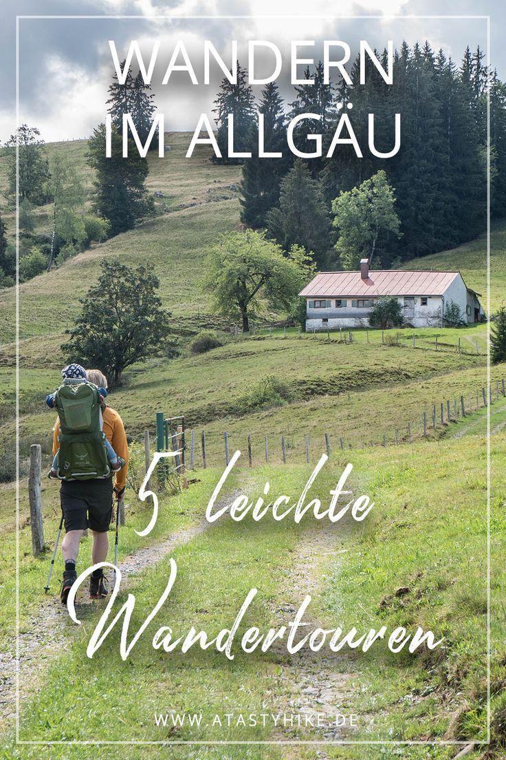 Allgäu wandern - 5 leichte und wunderschöne Wandertouren im Allgäu, die perfe...,  #Allgäu #die #leichte #perfe #traveldestinationsmountains #und #Wandern #Wandertouren #wunderschöne