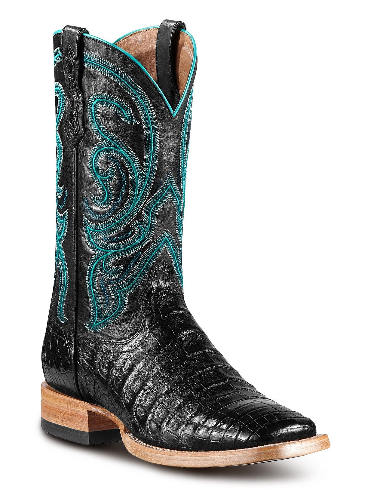 5c4a9884d52 Mens Ariat Black Stillwater Boots 10011792 - Texas Boot Company is ...