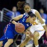 Elite Eight for Lady Vols, 84-73  Simmons demonstrating her much improved defense.
